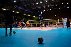 Volley Milano - Marcegaglia Ravenna Stock Photo