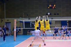 Volley Milano vs. Marcegaglia Ravenna A2 (Italian Royalty Free Stock Images