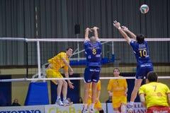Volley Milano vs. Marcegaglia Ravenna A2 (Italian Royalty Free Stock Photos