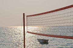 Volley net Royalty Free Stock Images