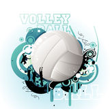 Volley vector illustration Royalty Free Stock Photos