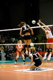 Volley - Volleyball All Star Game 2008 Royalty Free Stock Photography