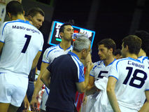 Volley World League Royalty Free Stock Images