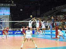 Volley World League Stock Image