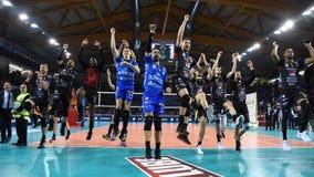Volleybal Champions League Men Championship Cucine Lube Civitanova vs Fenerbahce HDI Sigorta Istanbul