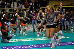 Volleybal match - All Star Game Stock Photos