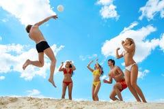 Volleyball stockfotos
