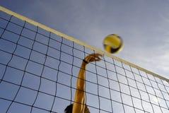 Volleyball 15 van het strand Stock Foto's