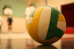 Volleyball. On the ground Royalty Free Stock Photo