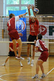 Volleyball action Royalty Free Stock Photos