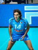 Volleyball: Alessandro Fei stock images