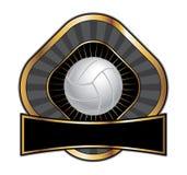 Volleyball-Auslegung-Schablonen-Diamant Stockbilder