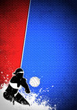 Volleyball background Royalty Free Stock Image