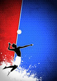 Volleyball background Royalty Free Stock Photo