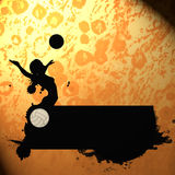 Volleyball background Royalty Free Stock Photos
