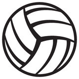 Volleyball ball. Ball for volleyball, sports ball Stock Image