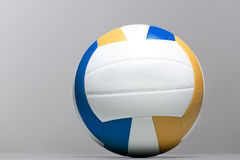 Volleyball ball on a gray background. Stock Images