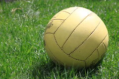 Volleyball ball. Volleyball i sone  of  my  favorite sports Royalty Free Stock Photos