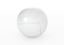 Volleyball ball  on white Royalty Free Stock Images