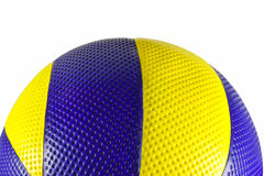 Volleyball ball. Isolated on white background stock photos