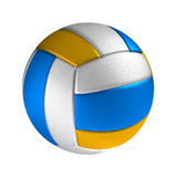 Volleyball ball isolated on the white background Stock Images