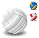 Volleyball ball set Royalty Free Stock Photography