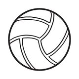 Volleyball ball sports activity play competition tournament Stock Photography