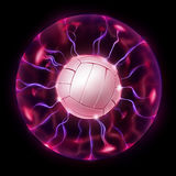 Volleyball Ball Wheel Stock Photography