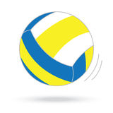 Volleyball ball  white background Royalty Free Stock Photography