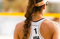 Volleyball Beach Royalty Free Stock Photos