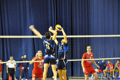 Volleyball competitions Stock Photography