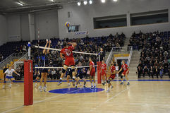 Volleyball competitions Stock Image