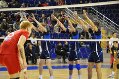 Volleyball competitions Royalty Free Stock Image
