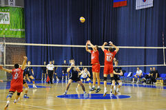 Volleyball competitions Royalty Free Stock Images