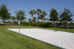 Volleyball Court Royalty Free Stock Photo