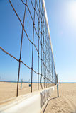 Volleyball courts on Venice Beach Royalty Free Stock Photography
