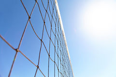 Volleyball courts on Venice Beach Royalty Free Stock Photos