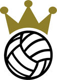 Volleyball Crown Royalty Free Stock Image