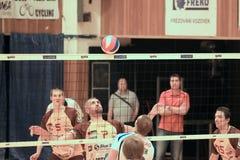 Volleyball curiosity Royalty Free Stock Photos