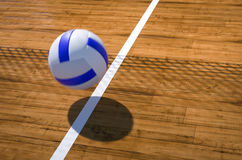 Volleyball 3D illustration Stock Photography