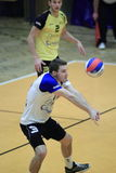 Volleyball - Daniel Pfeffer Royalty Free Stock Photography