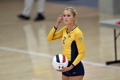 Volleyball 2015 de NCAA - Kent State et Morgan State Image stock