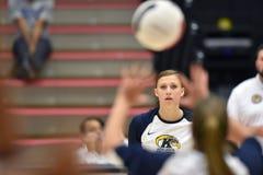 Volleyball 2015 de NCAA - Kent State et Morgan State Image libre de droits