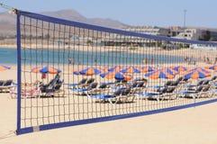 volleyball de plage Photos stock
