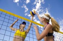 Volleyball de plage Photo libre de droits