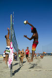 Volleyball de plage photographie stock libre de droits