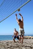 Volleyball de plage image libre de droits