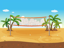 Volleyball de plage Images libres de droits