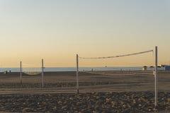 Volleyball de plage Photographie stock libre de droits