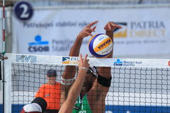 Volleyball de plage - Ricardo Images stock